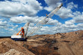 Dragline Royalty Free Stock Image
