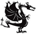 Dragon. Royalty Free Stock Image