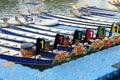 Dragon boat festival at Singapore river Royalty Free Stock Photo