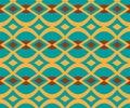 Dragon Boat Festival style diamond seamless pattern