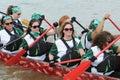 Dragon boat race Royalty Free Stock Photo