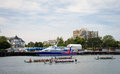Dragon Boat Races at Victoria, British Columbia Stock Photos