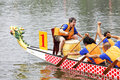 Dragon-boat racing Royalty Free Stock Image