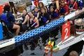 Dragon Boat Team Royalty Free Stock Photo