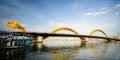 Dragon Bridge Cross Han River ...