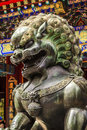 Dragon Bronze Statue Roof Summer Palace Beijing China Royalty Free Stock Photo