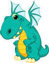 Dragon cartoon Royalty Free Stock Image