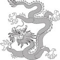 Dragon chinois Photos libres de droits