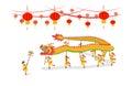 Dragon Dancing show