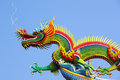 Dragon-decorated of temple Royalty Free Stock Photo