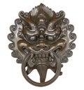 Dragon Door knob Royalty Free Stock Photo