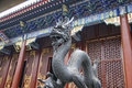 Dragon in the forbidden city beijing Royalty Free Stock Photography