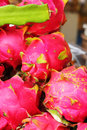 Dragon fruit in the market Stock Photography