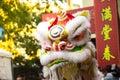 Dragon Head In Chinese New Yea...