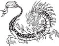 Dragon Illustration Stock Photo