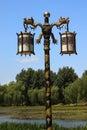 Dragon Lamp Yuanming Yuan Old Summer Palace Royalty Free Stock Photo