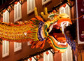 Dragon at Malacca City Night Stock Photography