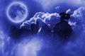 Dragon In Moonlight