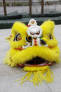 Dragon performers hold to celebrate the upcoming chinese new year in china Stock Photo