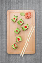 Dragon Roll Sushi Royalty Free Stock Photography