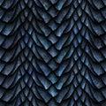 Dragon scales seamless texture Royalty Free Stock Photo