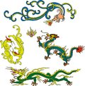 Dragon set eighteen Royalty Free Stock Image