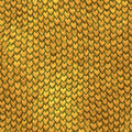 Dragon skin gold scales background Royalty Free Stock Photos