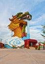 Dragon statue grande Imagens de Stock
