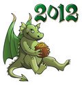 Dragon, symbol of the year Stock Photography