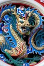 Dragon symbolic of chinese emperor Stock Photos