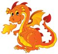 Dragon theme image 7 Royalty Free Stock Photo