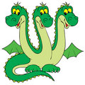 Dragon (vector clip-art) Stock Photos