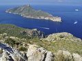 Dragonera Island, Mallorca, Spain Royalty Free Stock Image