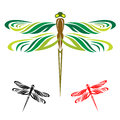Dragonflies fly Stock Photos