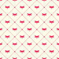 Dragonfly and argyle vector pattern
