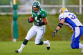 Dragons de Danube contre Graz Giants Photos stock