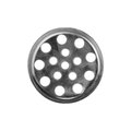 Drain cover isolated on white background Royalty Free Stock Photo