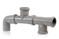 Drain pipe Royalty Free Stock Images