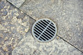 Drain Tiles Royalty Free Stock Photo