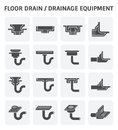 Drainage equipment icon