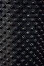 Drainage membrane piece of plastic black Royalty Free Stock Photo