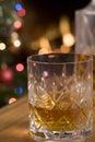 Dram of Whiskey Royalty Free Stock Image