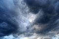 Dramatic clouds natural area background Stock Image