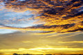 Dramatic cloudscape for your sky design background Royalty Free Stock Image