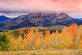 Dramatic sunrise in Heber Valley, Utah Royalty Free Stock Photo