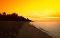 Dramatic sunset sky. Royalty Free Stock Photo