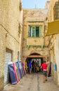The draperies of sfax tunisia september as centre light industry offers wide range and other materials for cloth Royalty Free Stock Photography