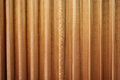 Drapery brown with detail of vintage curtains Royalty Free Stock Images