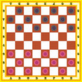 Draughts Stock Photos