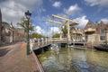 Drawbridge In Alkmaar, Holland
